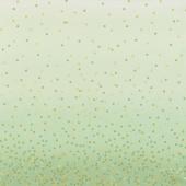 Ombre Confetti Metallic - Mint Yardage