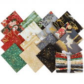 Imperial Collection 16 Metallic Fat Quarter Bundle