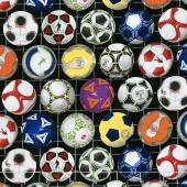 Sports - Soccer Balls Black Yardage
