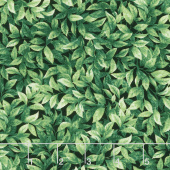 Splash of Lemon - Lemon Tree Leaves Green Yardage