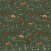 Return to Cub Lake - Cub Lake Forest Flannel Yardage