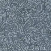 Tonga Batiks - Graphite Stars Iron Yardage