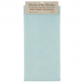 Weeks Dye Works Hand Over Dyed Wool Fat Quarter - Solid Seafoam