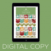 Digital Download - Tulip Fields Quilt Pattern by Missouri Star