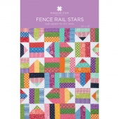 Fence Rail Star Quilt Pattern by Missouri Star