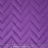 "Cuddle Embossed Chevron - Amethyst 60"" Minky Yardage"