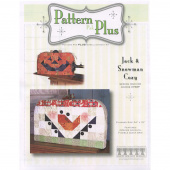 Sewing Machine Cozy Snowman and Pumpkin Pattern Pak Plus
