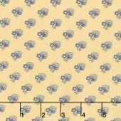 Regency Ballycastle Chintz 18th Century - Limavady Sudbury Yellow Yardage