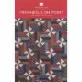 Pinwheels on Point Pattern by Missouri Star