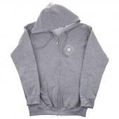 Make Something Today 2X-Large Zip Hooded Jacket - Sports Gray