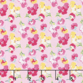 Fruitful Pleasures - Flowers Pink Yardage