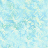 Salt Water Taffy Batiks - Dragonfly Bahama Yardage