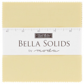 Bella Solids Baby Yellow Charm Pack