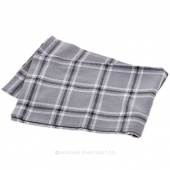 Tea Towel - Windowpane Grey