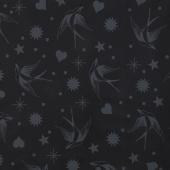 Linework - Fairy Flakes Ink Yardage