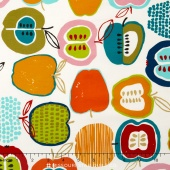 In the Kitchen - Apple Of My Eye Natural Bright Yardage