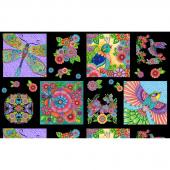 Rainbow Flight - Birds Craft Multi Panel