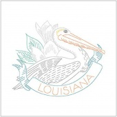 Birds of Liberty - Louisiana Digitally Printed Panel