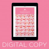 Digital Download - Tender Hearts Pattern by MSQC