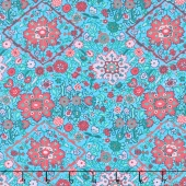 Soul Mate - Inner Vision Turquoise Yardage