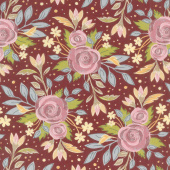 Nova - Choose Happy Wild Ginger Yardage