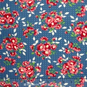 Bread 'N Butter - Dotted Daisy Royal Yardage