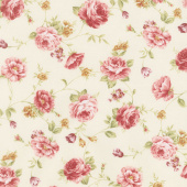 Zellie Ann - Else's Flowers Butter Yardage