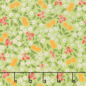 Cultivate Kindness - Flower Field Moss Green  Yardage