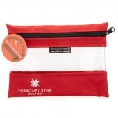 "MSQC's SEEYOURSTUFF Bag 6"" x 8"" - Red"