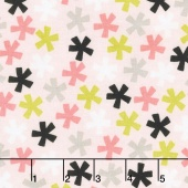 Meow - Meow Asterisk Pink Yardage
