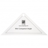 EZ Quilting Jelly Roll Ruler - Mini Companion Angle