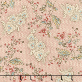 Susanna's Scraps - Ma's Fancy Dress Chocineal Yardage