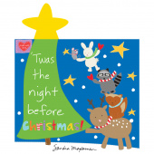 Huggable & Lovable Books - Twas the Night Before Christmas Book Panel
