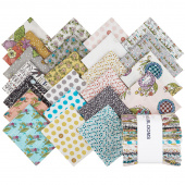 Bubbie's Buttons and Blooms Fat Quarter Bundle