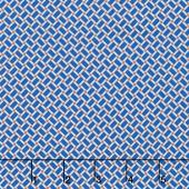 Arbor Blossom - Arbor Geometric Blue Yardage