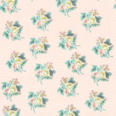 Splendor - Bouquet Peach Yardage