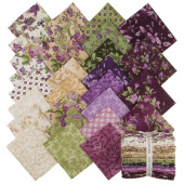 Aubergine Fat Quarter Bundle