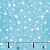 All Our Stars - Stars Teal Yardage