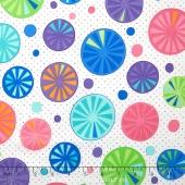 Rainy Day - Umbrella Tops Multi Yardage