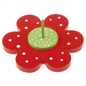 Binding Babies™ Flower Spindle - Red Petals