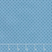 Delfina - Freckles Island Blue Yardage