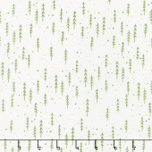 Merriment - Winter Trees Snow Holly Yardage