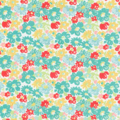 Vintage Happy 2 - Main Vivid Yardage