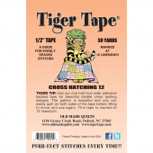 "Tiger Tape® - 1/2"" - 12 lines per inch"