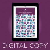 Digital Download - Diamonds Squared Quilt Pattern by Missouri Star