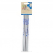 Roxanne Chalk Pencils Silver 4pk