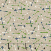 The Great Outdoors - Outdoors Arrows Tan Yardage