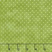 Beautiful Basics - Classic Dot Kiwi Yardage