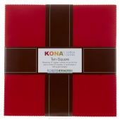 Kona Cotton 30's Palette Ten Squares