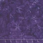 Snowberry Batiks - Snowflake Grape Yardage